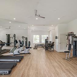 Bell Parkland fitness center